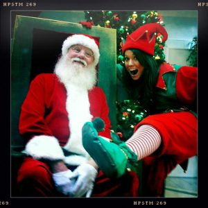 Vancouver Santa for hire with an elf